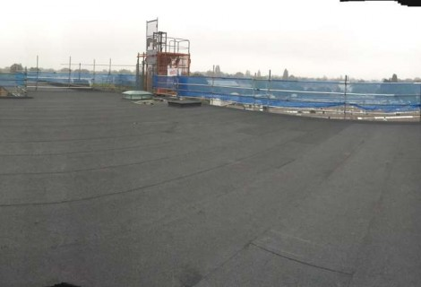 Commercial Flat Roof to Substation, Birmingham