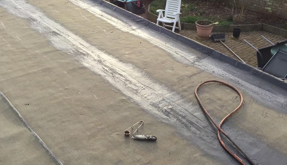 Domestic Garage Flat Roof